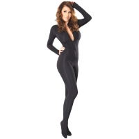 ledapol 3109 sexy stretch catsuit - dames stoff overall