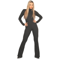 ledapol 3113 sexy stretch catsuit - dames stoff overall